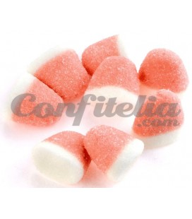 Strawberry Kisses gummy jellies by Trolli