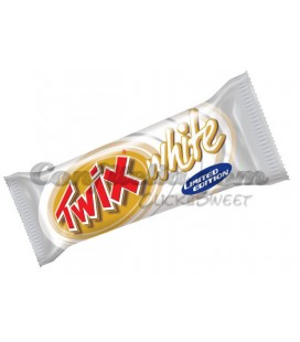 Barritas de chocolate Twix White limited edition