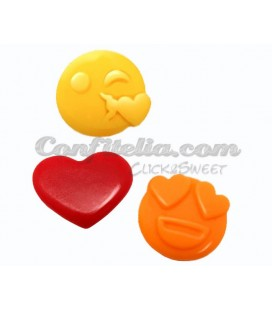 Emoji Love gummies by Roypas