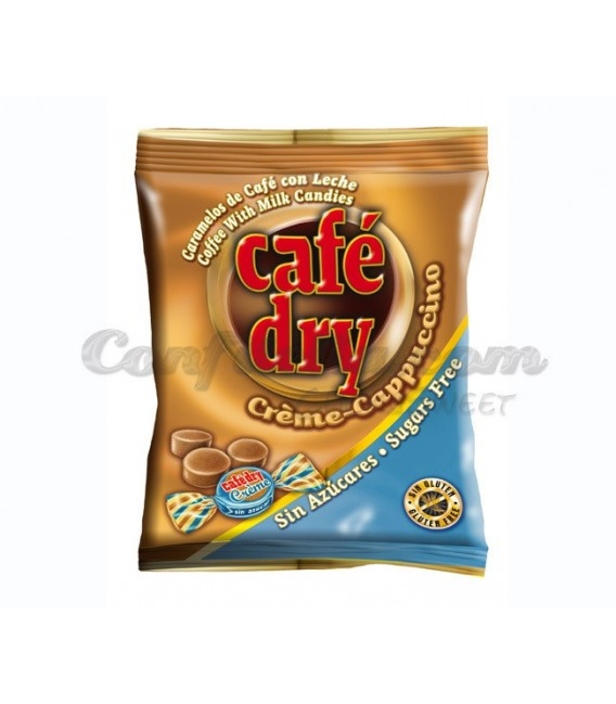 Cafe Dry Creme sugar free candy 65 grs.