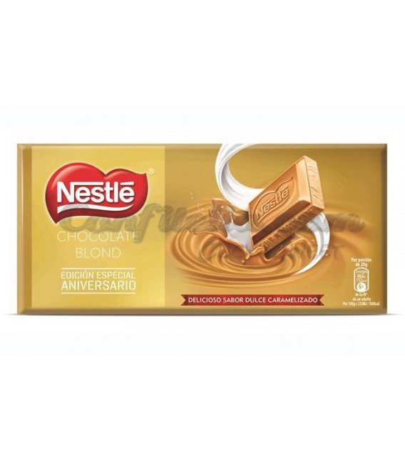 Chocolate Extrafino Blond de Nestle