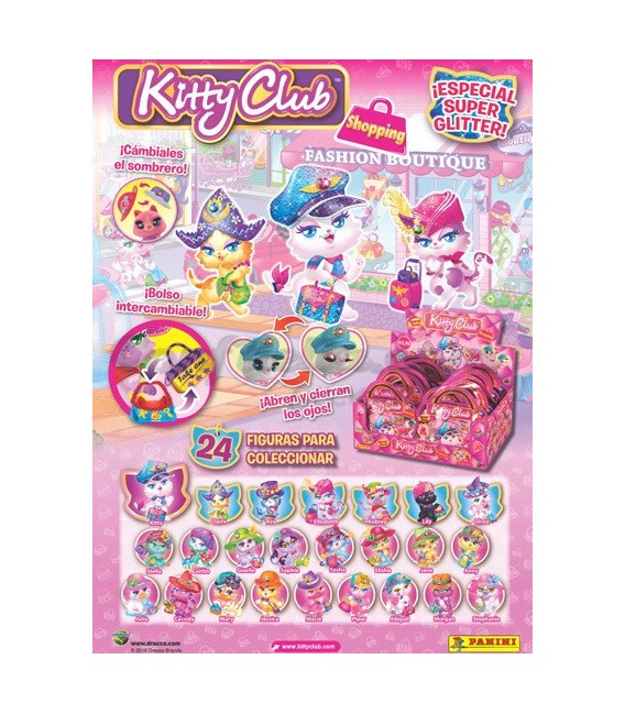 Coleccion Kitty Club de Panini