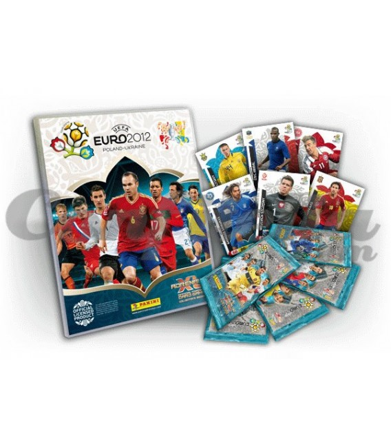 Adrenalyn Euro 2012 launch pack of Panini