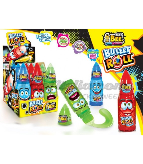 Bullet Roll liquid candy