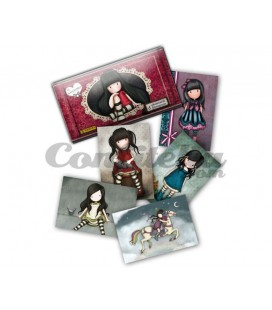 Santoro's Gorjuss photocards by Panini