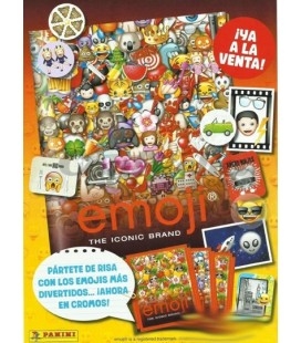 Emoji stickers of Panini