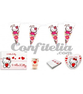 Pack fiesta Hello Kitty