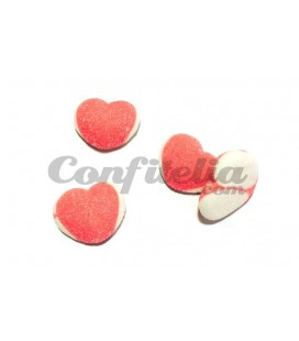 Double Heart gummy jellies by Damel