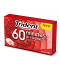 60 Minutes strawberry chewing gum