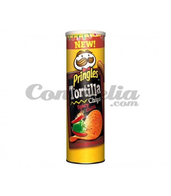Pringles Tortilla Spicy Chilly 160 gramos