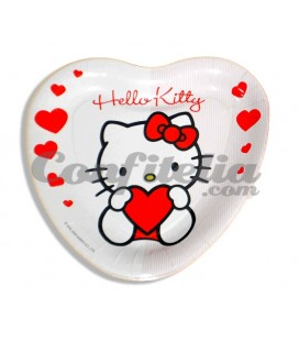Plato mediano Hello Kitty