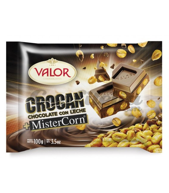 Mister Corn chocolate tablet of Valor