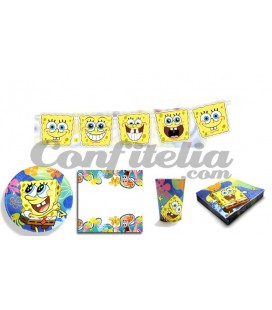Party pack SpongeBob
