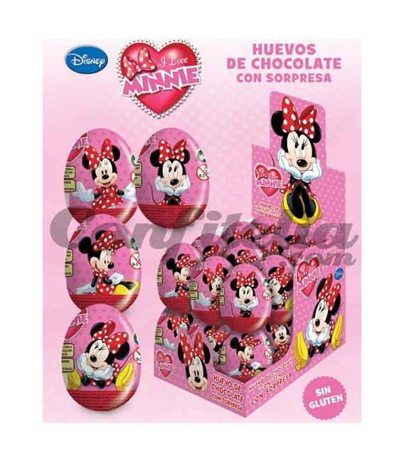 Huevos de chocolate Minnie