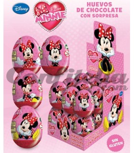 Minnie chocolate eggs