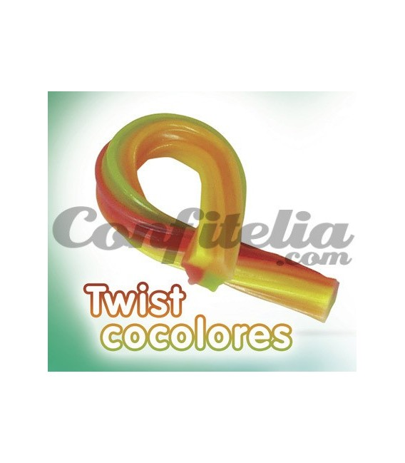 Twist Haribo colours liquorice