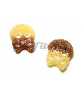 Sour Cola Skulls gummy jellies