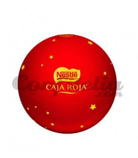 Red Box Christmas ball chocolates