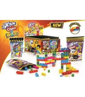 Caramelos Candy Bricks Xtreme