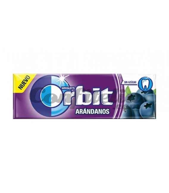 Chicle Orbit Arandanos sin azucar
