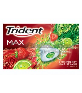 Chicle Trident Max fresa-lima sin azucar