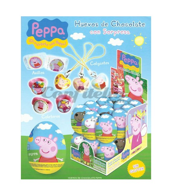 Huevos de chocolate Peppa Pig