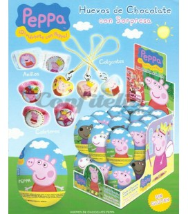 Peppa Pig chocolate eggs