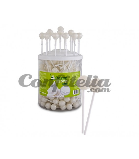 Frozen Pop Yogurt Natural Lollipop
