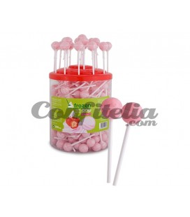 Frozen Pop Yogurt Strawberry lollipop