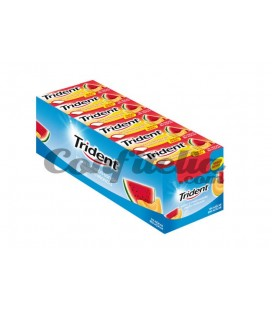 Chewing gum Trident Dragee Melon - watermelon sugarfree