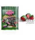 Watermelon gummy jellies in packs