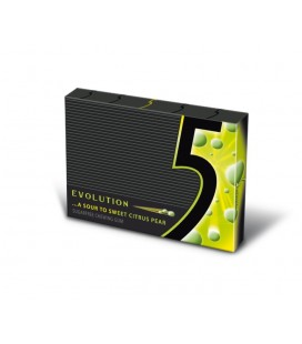 Chicle sin azucar Five Evolution Limon - Pera