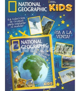 Pack lanzamiento National Geographic Kids de Panini