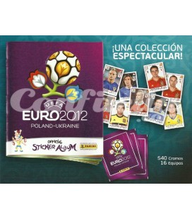 Euro 2012 stickers collection of Panini