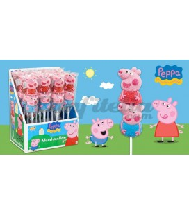 Peppa Pig marshmallow skewer