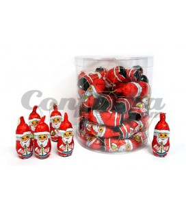 Santa Claus chocolate figures