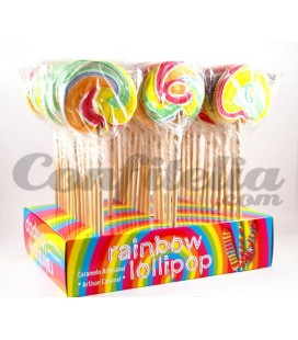 Giant Iris candy lollipop