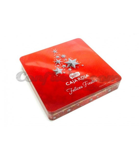 Nestle Red Box chocolates tin 200 grams