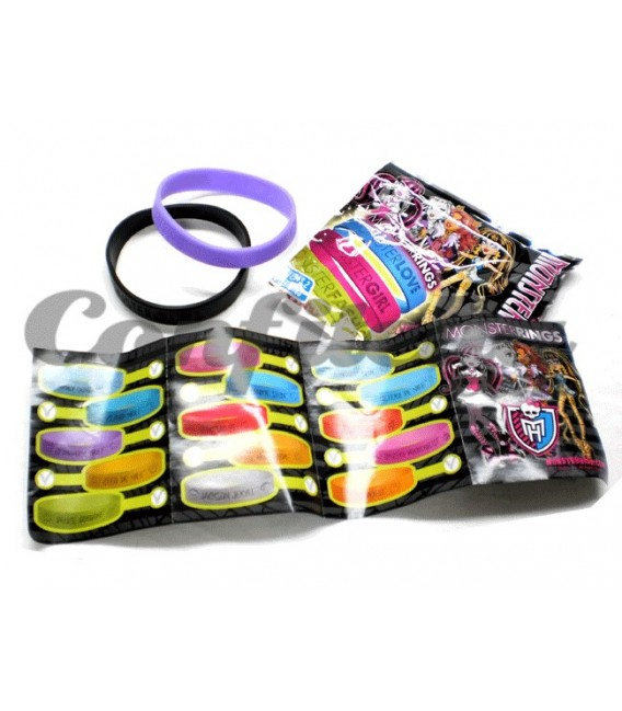 Pulseras Monster High de Panini