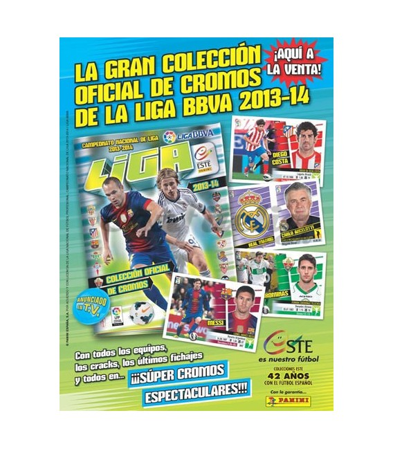 Liga 2013-2014 collection launch pack