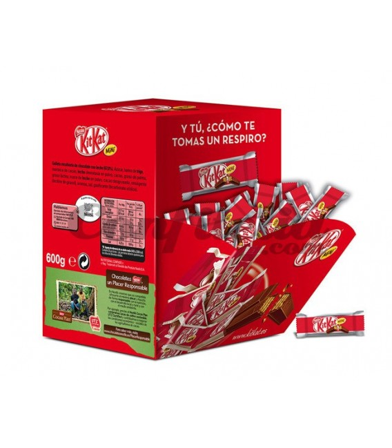 Kit Kat mini bars