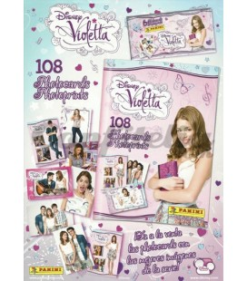 Violetta photocards album