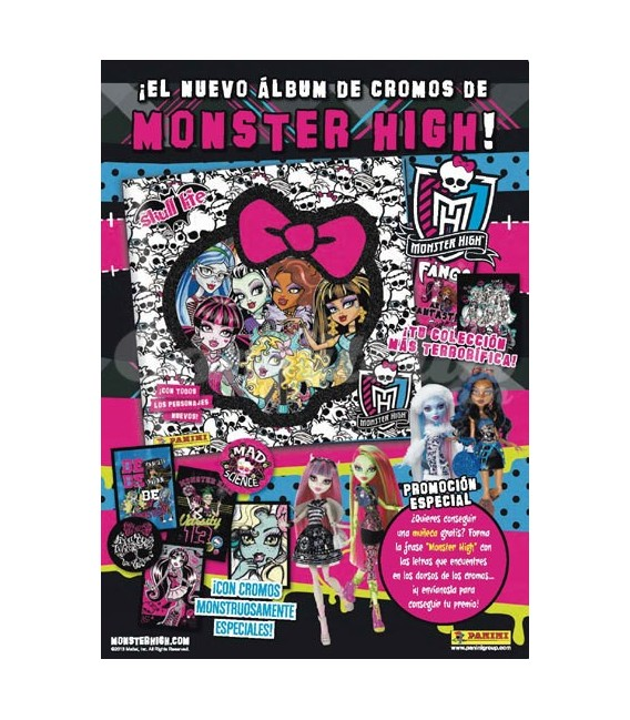 Pack lanzamiento Monster High Skull Life