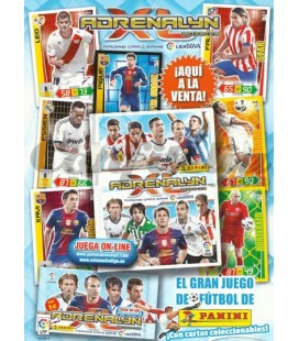 Pack de lanzamiento Adrenalyn XL Liga 2012-2013