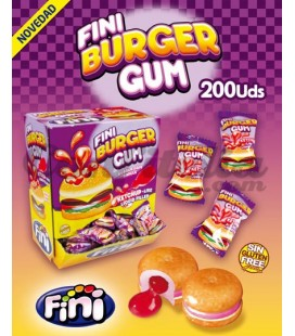 Fini Burger chewing gum