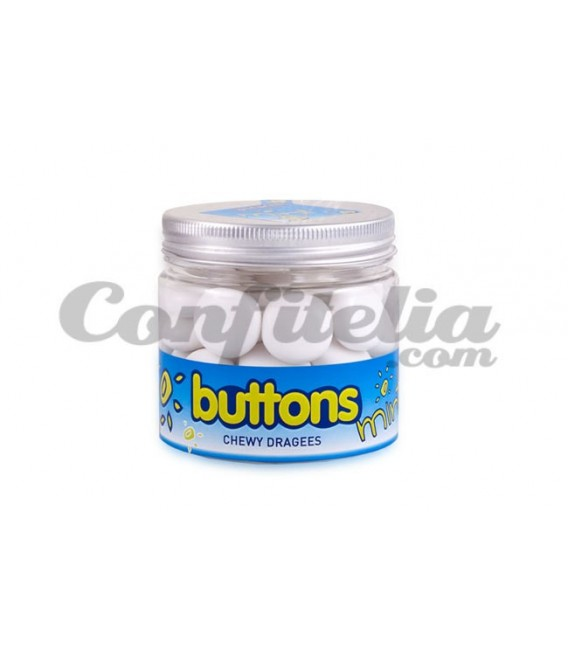 Buttons Mint candy in pot