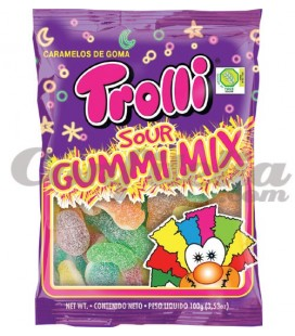 Sour Gummi Mix by Trolli
