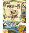 Animales stickers collection launch pack