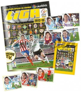 BBVA liga 2012-2013 official stickers collection