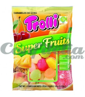 SuperFruits gummy jellies by Trolli